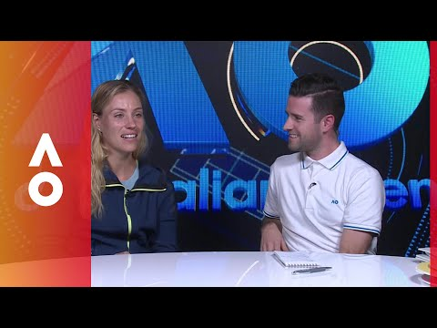 Kerber drops by the AO Live studio | Australian Open 2018