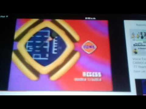 GMTV - Diggit Recess W&W Buzz Lightyear WWWW & Weekenders Bumper (2001)