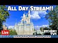 🔴Live: Disney's Magic Kingdom ALL DAY Live Stream 1080p  - Walt Disney World - 3-16-19