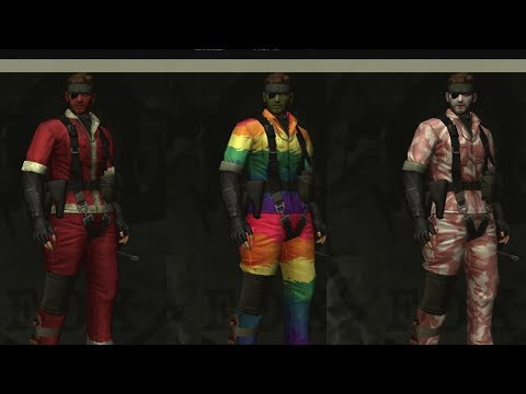 MGS3 - Every Uniform & Face Paint