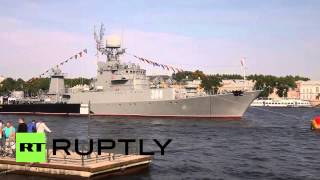 Russia: Navy Day celebrations underway in St. Petersburg