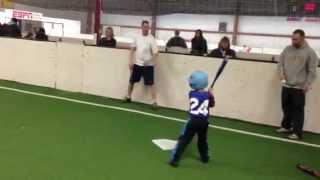 """Rope Ball"" being played in Fond du Lac, WI with the Do-It-All Stars Baseball Academy"