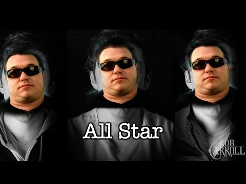All Star but it's a depressing acoustic cover