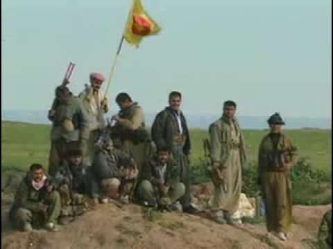 Kurdish Peshmerga Army during invasion of Iraq in 2003