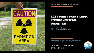 Leak at Former Piney Point Phosphate Facility