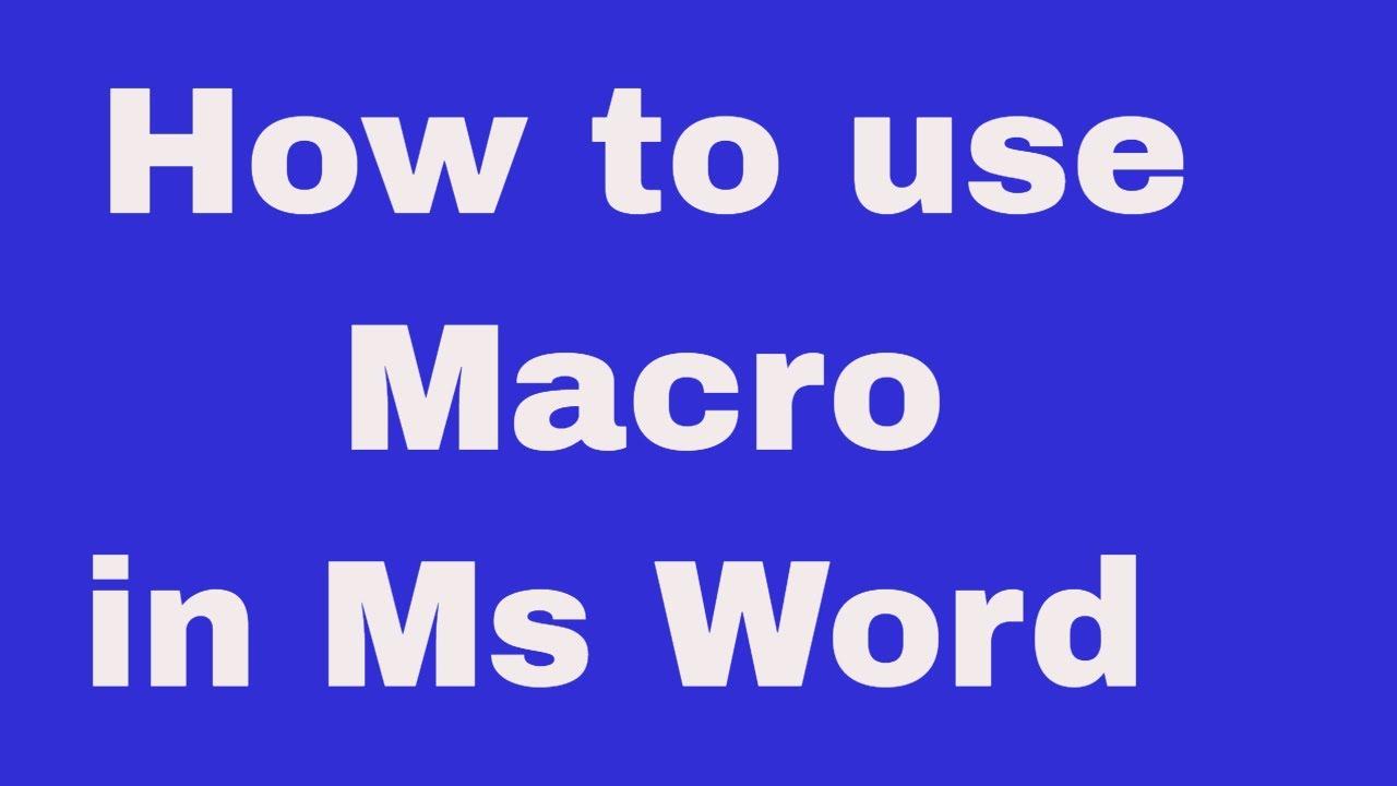 Debug a macro using step mode: macro « controls activex macro.