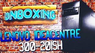 распаковка персонального компьютера Lenovo IdeaCentre 300-20ISH (90DA004AUA) Black из Rozetka.com.ua