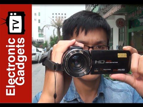 Take 1080P Video To Use Ordro Z20 Wi-Fi Digital Video Camera!