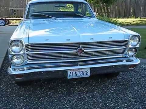 1966 Ford Fairlane 500 XL FOR SALE 6 22 13