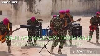 KARAOKE TINGGALKAN AYAH TINGGALKAN IBU GUNG-HO MARINIR BAND