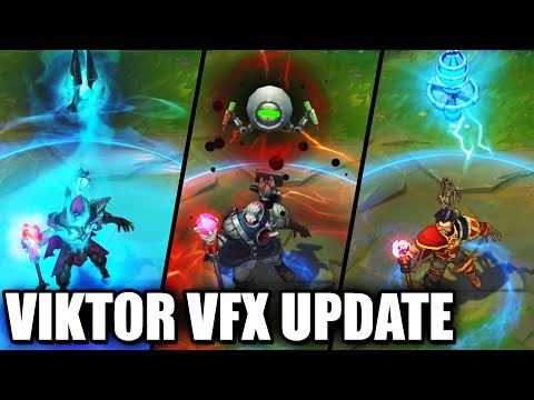 All Viktor Skins VFX Update 2020 (League of Legends)