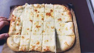 Сырно чесночный хлеб с сливочном соусом Легкий рецепт чесночного соуса