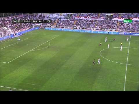 Rayo Vallecano vs Barcelona   21/09/13   HDTV  Parte 1