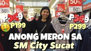 Super Clearance Sale Anong Meron Sa Sm City Sucat| Yhel 💚