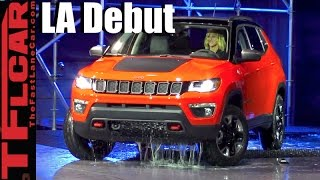 New 2017 Jeep Compass: Everything We Know - LA Debut