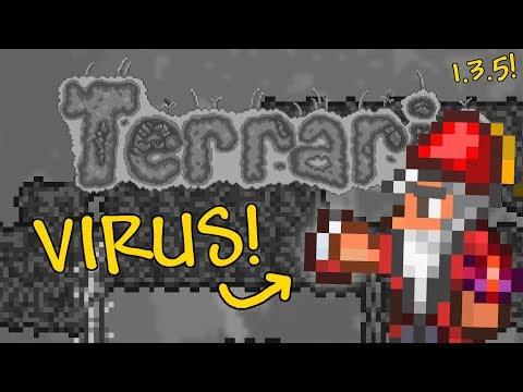 Terraria 1.3.5 - The Factory Virus - Full Adventure Map!