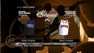 NCAA Basketball 09 (Classic Teams With Player Names) 01 Duke Blue vs 02 Maryland