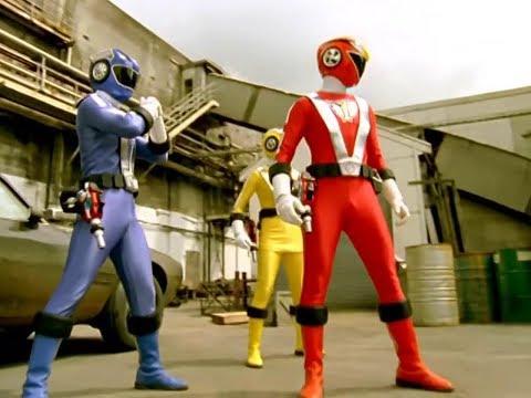 Power Ranger RPM   Primera Transformación y Batalla