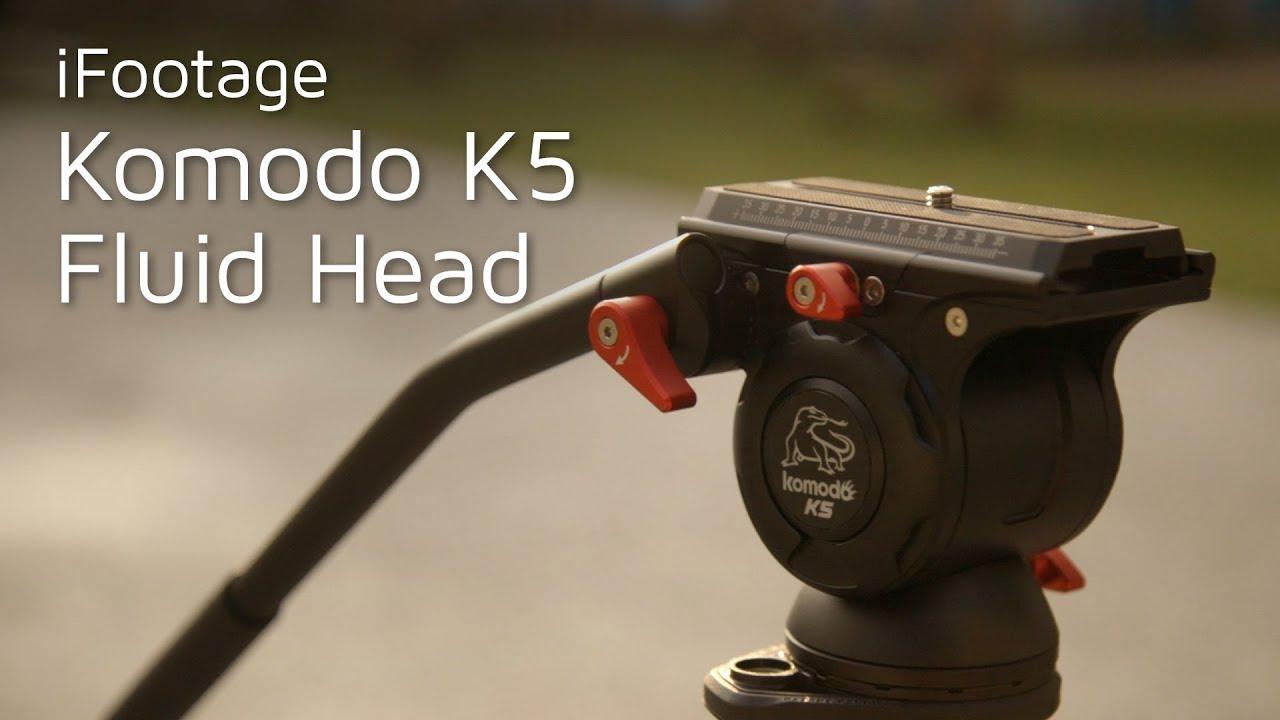 iFootage Komodo K5 Fluid Head Review - YouTube