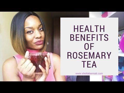 Rosemary Tea For Stomach/Intestinal Pain