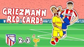 🔴2-3! GRIEZMANN SENT OFF!🔴 Ateltico Madrid vs Liverpool (Champions League Goals Highlights Salah)