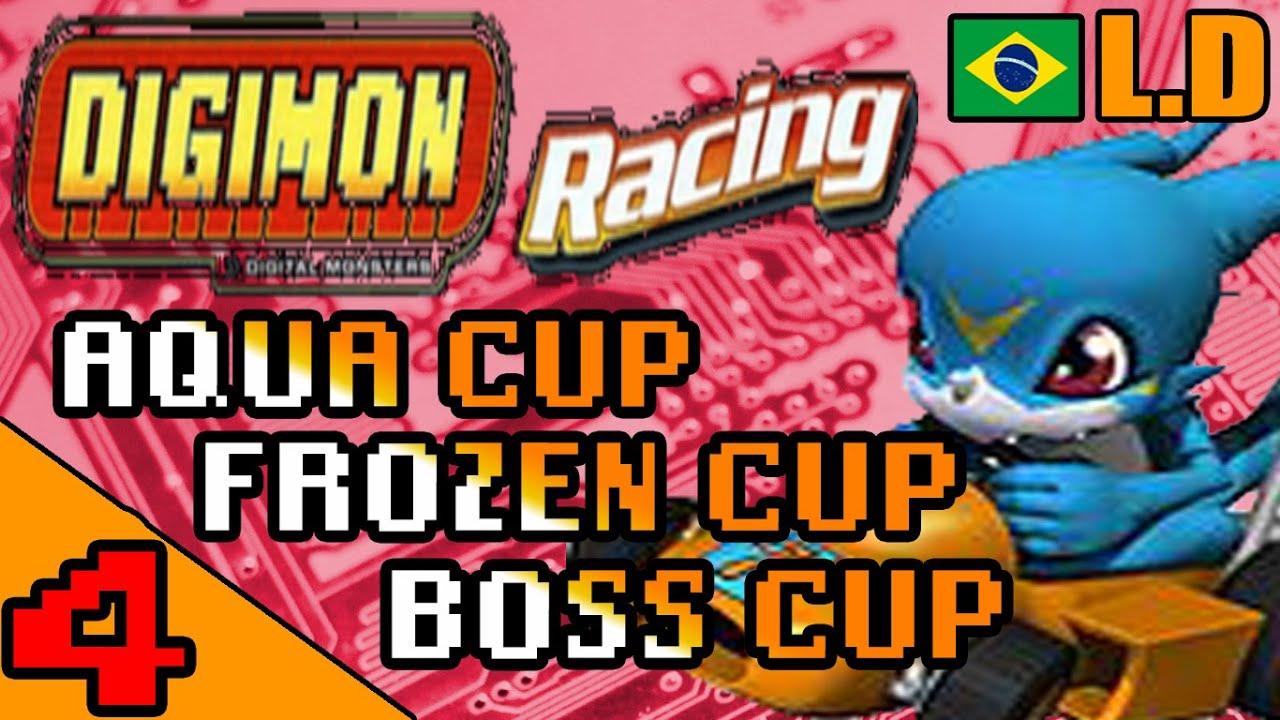 [WR] WORLD RECORD DIGIMON RACING (GBA) - Aqua\ Frozen\ Boss Cup