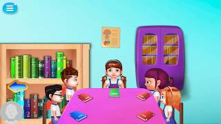 Romantic School Student Games Story | Learn to Love School Rotation