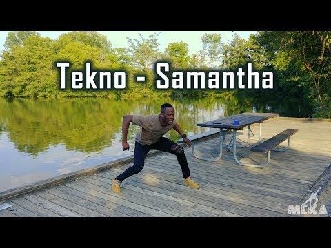 Tekno - Samantha   Meka Oku