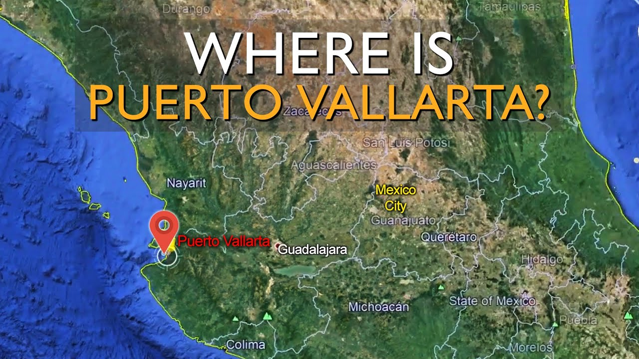 Where is Puerto Vallarta Located? on mexican west coast, map of mexico's pacific coast, map of mexico's east coast, map of mexico coast com, map of mexico's gulf coast, western mexico coast,