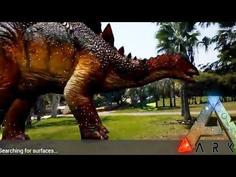 ARK Augmented REALITY - Catch Dinosaurs in the Park!