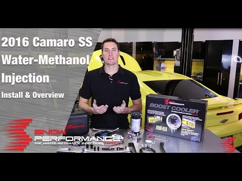 Snow Performance Stage 3 Boost Cooler Water-Methanol Kit Install/Review (2016 Camaro SS)