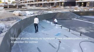 Havuz su izolasyonu - AKADEMİ YALITIM
