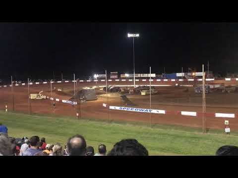 Motorcycle Jumps at Dixie Speedway