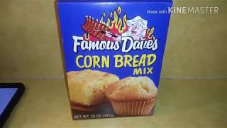 Famous Dave's Cornbread Muffins at Home