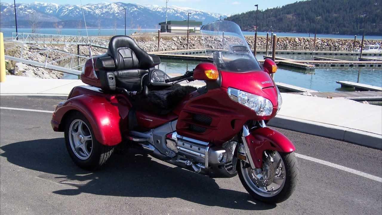 Honda Goldwing Trike For Sale (2011 GL1800 Lehman Monarch ...