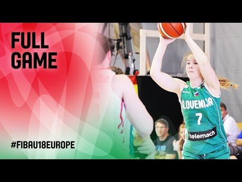 Czech Republic v Slovenia - Full Game - CL 9-16 - FIBA U18 Women's European Championship 2016