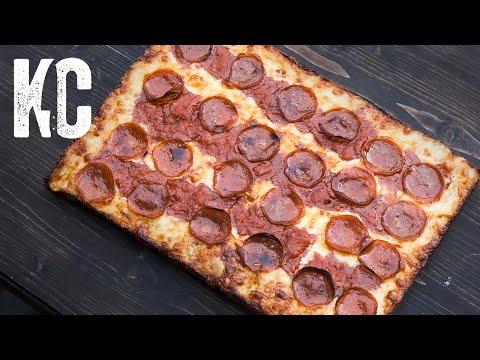 DETROIT STYLE DEEP DISH PIZZA | Ooni Pro Oven