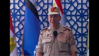 السيسي يطلب من لواء في الجيش المصري تغيير مكان سكنه (فيديو)
