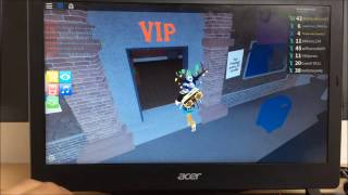 How To Wall Glitch in ROBLOX With A Laptop Mouse