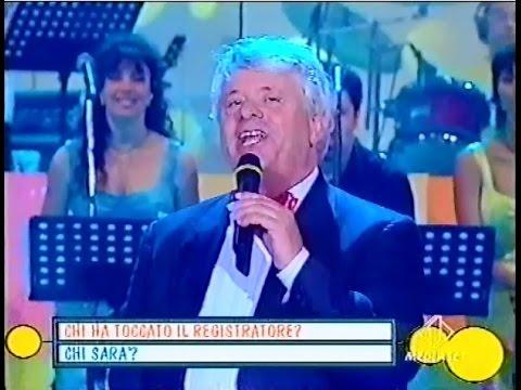 Lino Toffolo canta Jonny bassotto a macchemu' (Italia1 - 2000)