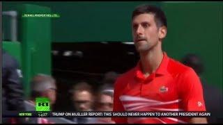 Medvedev stuns Djokovic at Monte Carlo Master