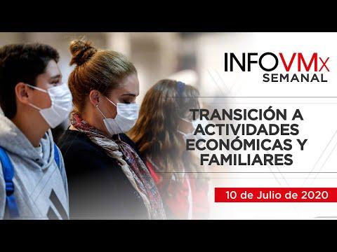 TRANSICIÓN A ACTIVIDADES ECONÓMICAS Y FAMILIARES; INFOVMx a 10 de Julio, 2020