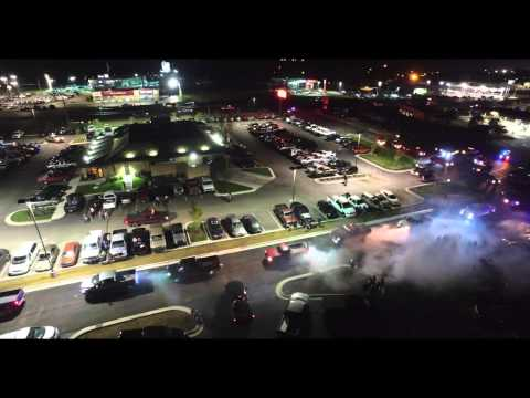 Sheid Diesel 2015 Saturday Night After Party From DJI Inspire Drone