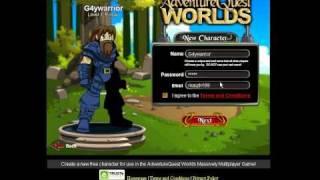 Aq worlds Schnelle Anleitung, um ein Konto Zu erstellen