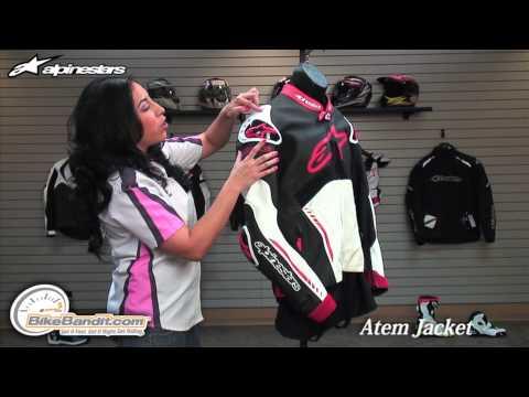 Alpinestars Atem Leather Motorcycle Jacket at BikeBandit.com