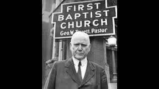 Paul's Example For Life by Dr George W Truett - Audio Only - 1940