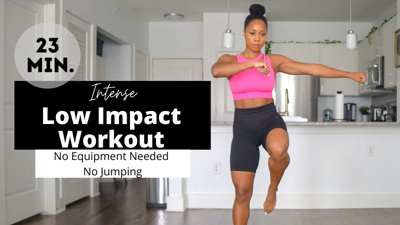 Low Impact Lower Body Workout| No Equipment Needed & No Jumping