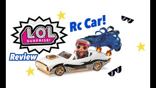 LOL Surprise RC Wheels Car Unboxing with Exclusive Doll