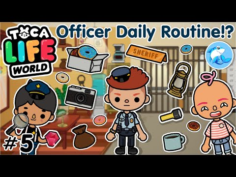 Toca Life world   Police Officer Daily Routines #5
