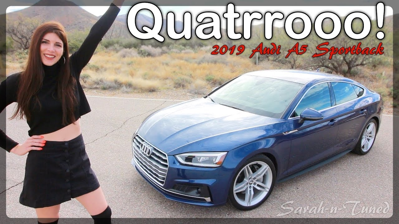 the ultimate daily driver       2019 audi a5 sportback review